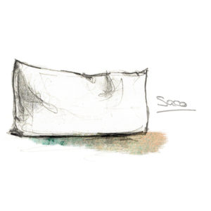 Almohada saco