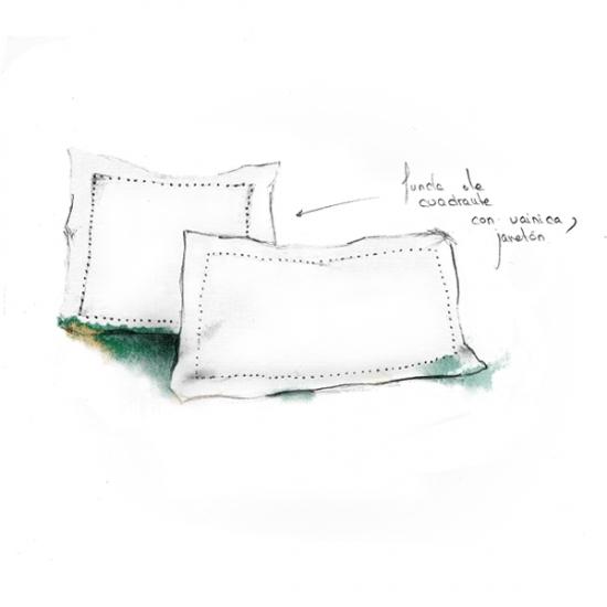 Tradicion Square Cushion Cover