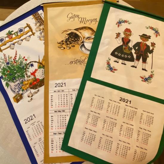 Calendario Tela Mediano 2021